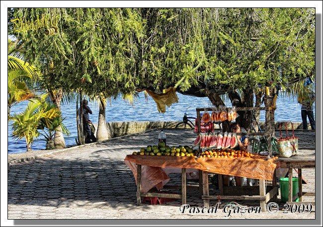 Vendeuse de fruits